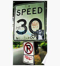 Speed Kills Poster