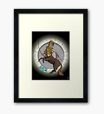 Sagittarius Goddess Framed Print