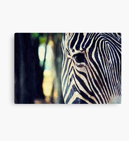 Living Barcode Canvas Print