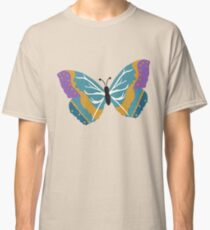 Vector illustration of beautiful butterfly Classic T-Shirt