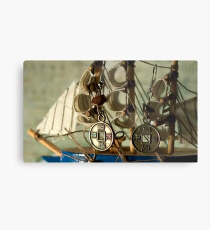 Ship that's sailingto unknown Metal Print