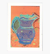 purple pitcher Photographic Print