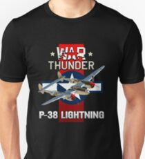 War Thunder P-38 Lightning T-Shirt