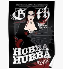 Poster for Hubba Hubba Revue, March 2012 Poster