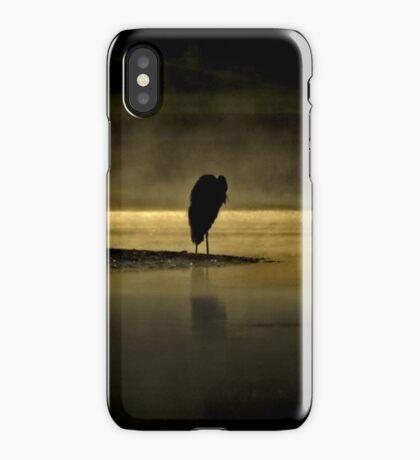 Herons in the Mist iPhone Case/Skin