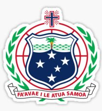 Coat of Arms of Samoa Sticker