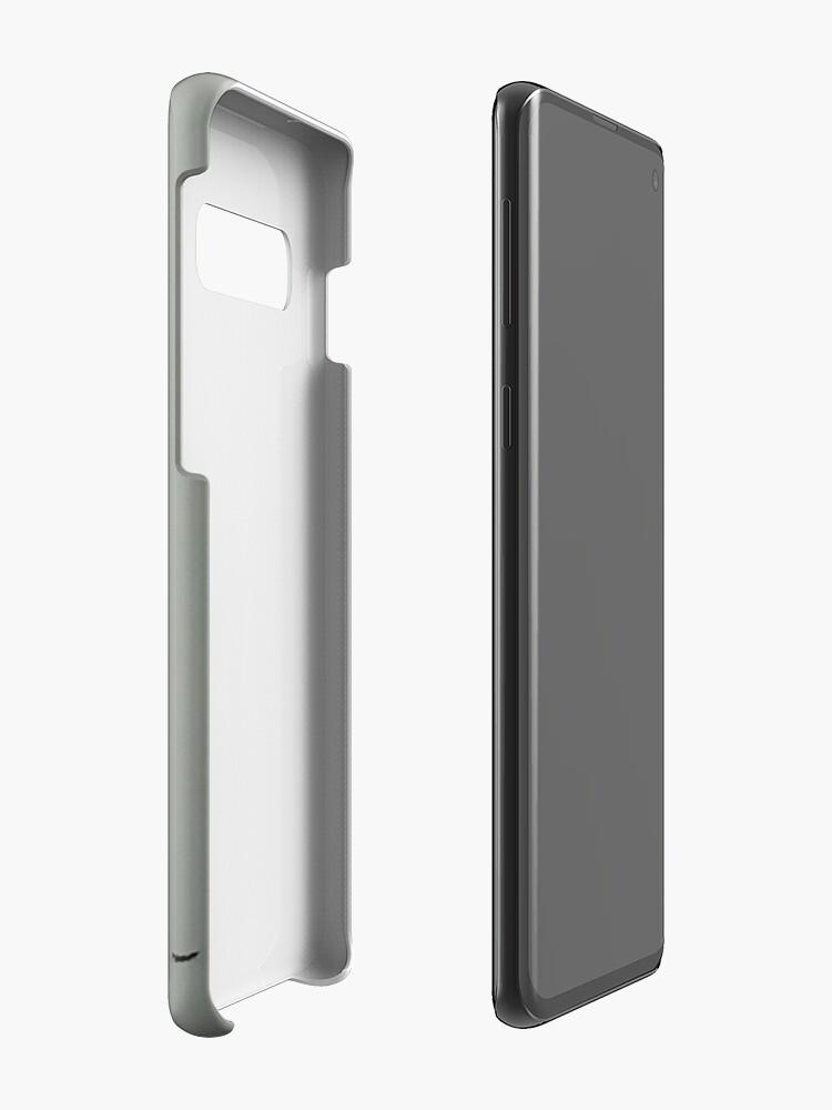Alternate view of Little Snow Bird Case & Skin for Samsung Galaxy