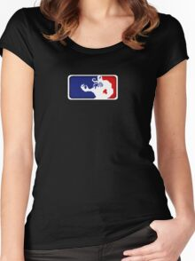 Major League Symbiote Women's Fitted Scoop T-Shirt