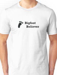 Bigfoot Believer (black text) T-Shirt