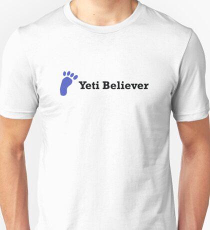 Yeti Believer (black text) T-Shirt