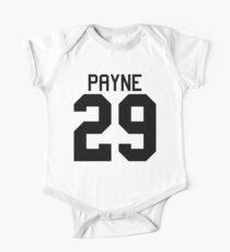 Liam Payne jersey (black text) One Piece - Short Sleeve