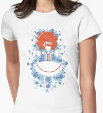 Blueberry Dream Womens Fitted T-Shirt