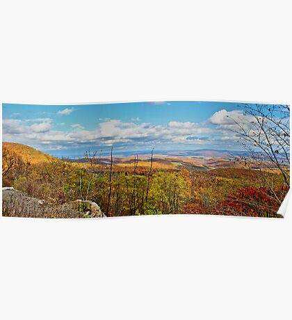 Scenic View in Pennsylvania Poster