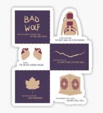 Doctor Who | Story Arcs Sticker