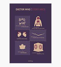 Doctor Who |Story Arcs Photographic Print