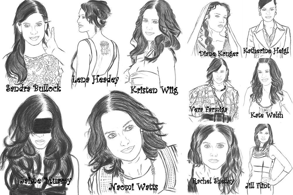 Favorite actresses edit 3 by KelceyHeadey