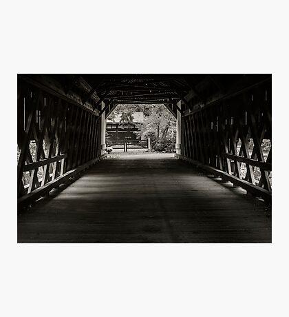 Uhlerstown Covered Bridge III Photographic Print