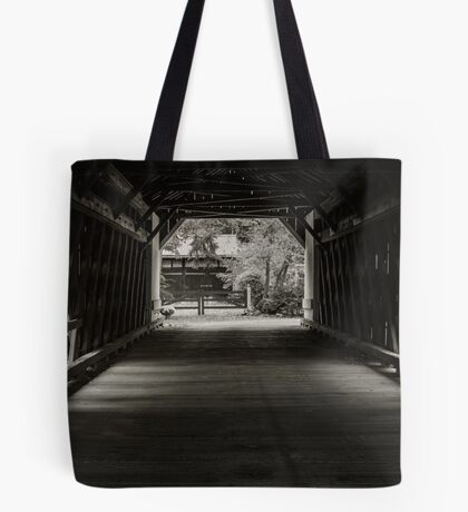 Uhlerstown Covered Bridge III Tote Bag