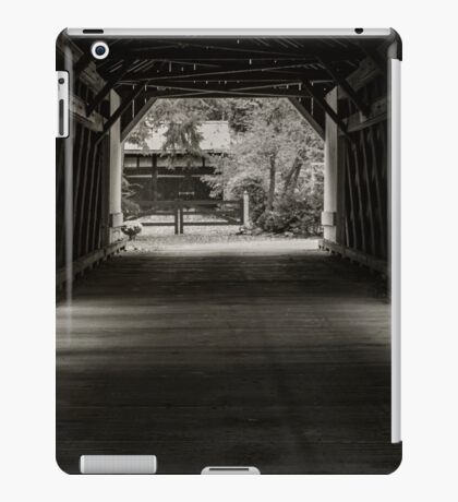 Uhlerstown Covered Bridge III iPad Case/Skin
