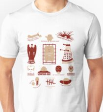 Doctor Who | Aliens & Villains (alternate version) Unisex T-Shirt