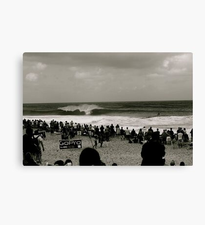The pipe masters Canvas Print