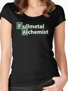 fullmetal alchemist breaking bad  Women's Fitted Scoop T-Shirt