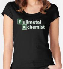 fullmetal alchemist breaking bad  Women's Fitted Scoop T-Shirt