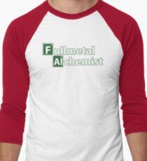fullmetal alchemist breaking bad  Men's Baseball ¾ T-Shirt