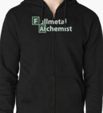 fullmetal alchemist breaking bad  Zipped Hoodie