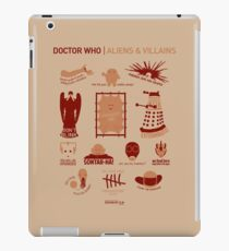 Doctor Who | Aliens & Villains iPad Case/Skin