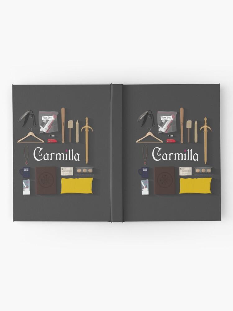 Vista alternativa de Cuaderno de tapa dura Artículos de Carmilla