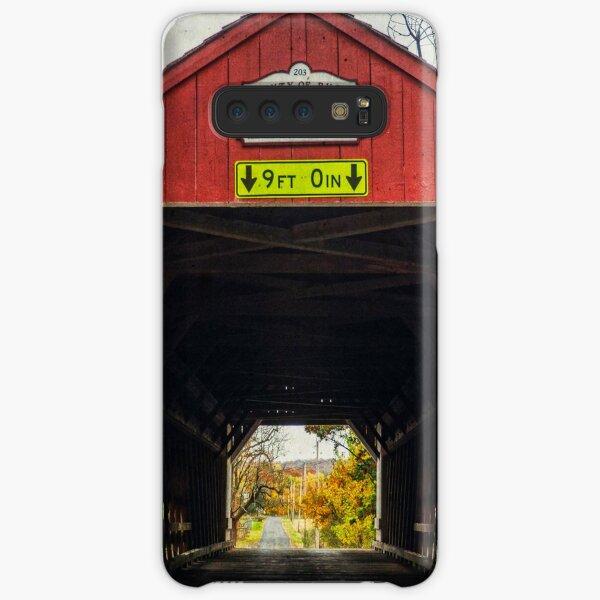 Uhlerstown Covered Bridge IV Samsung Galaxy Snap Case