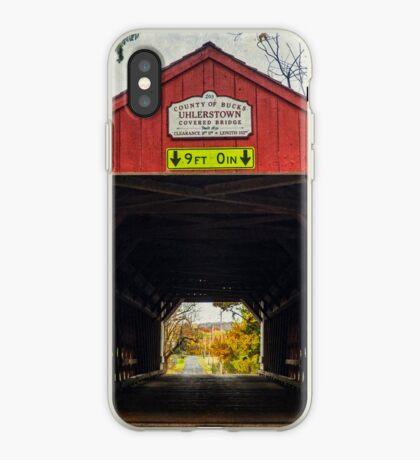 Uhlerstown Covered Bridge IV iPhone Case