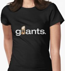 San Francisco Giants World Series Trophy (adult size) Women's Fitted T-Shirt