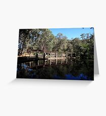 Roleystone,Araluen Botanic Garden's Lake Greeting Card