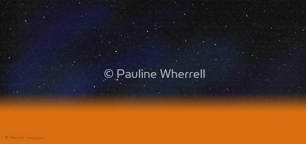 Desert sky by © Pauline Wherrell