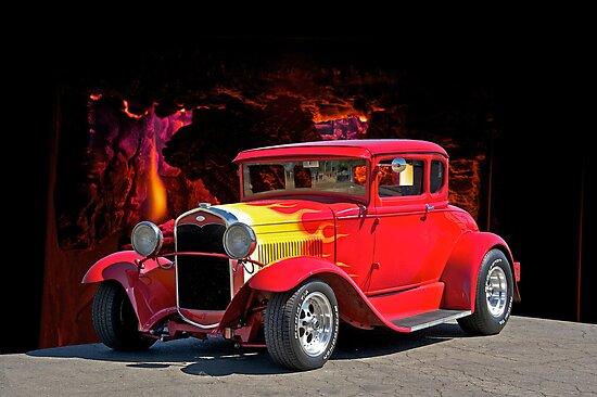 Hell Fire Hot Rod by DaveKoontz