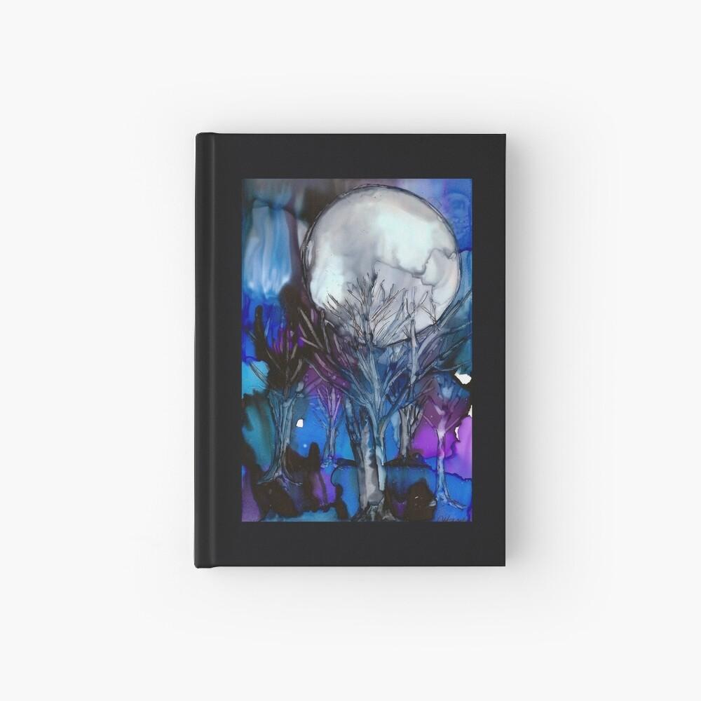 Winter Mond Notizbuch
