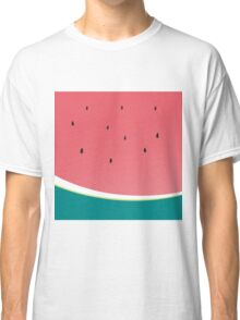 WATERMELON modern simple bold print Classic T-Shirt