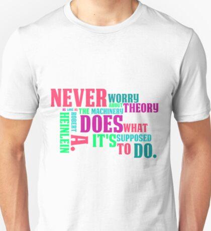 Robert A. Heinlein Quote T-Shirt
