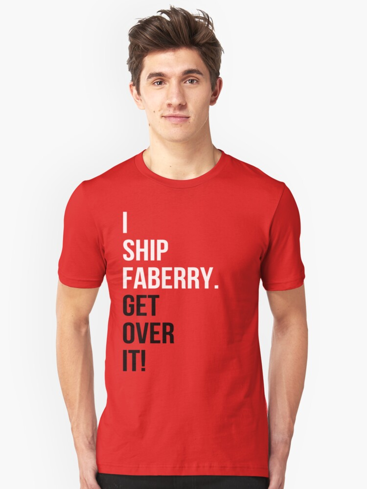 I Ship Faberry. Get Over It! by rexannakay