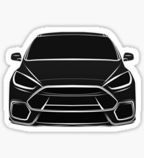 2016 Ford Focus RS Sticker