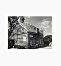 Old Schoolhouse Art Print