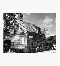 Old Schoolhouse Photographic Print