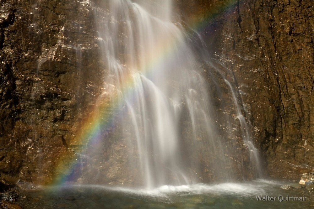 Waterfall Colors by Walter Quirtmair
