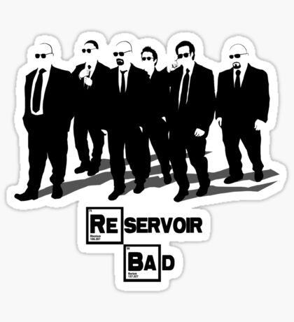 Reservoir Bad Sticker