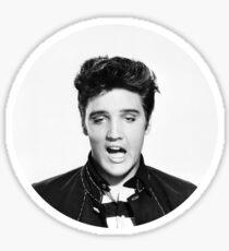 Minimalist Elvis Sticker
