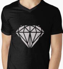 Diamond Mens V-Neck T-Shirt