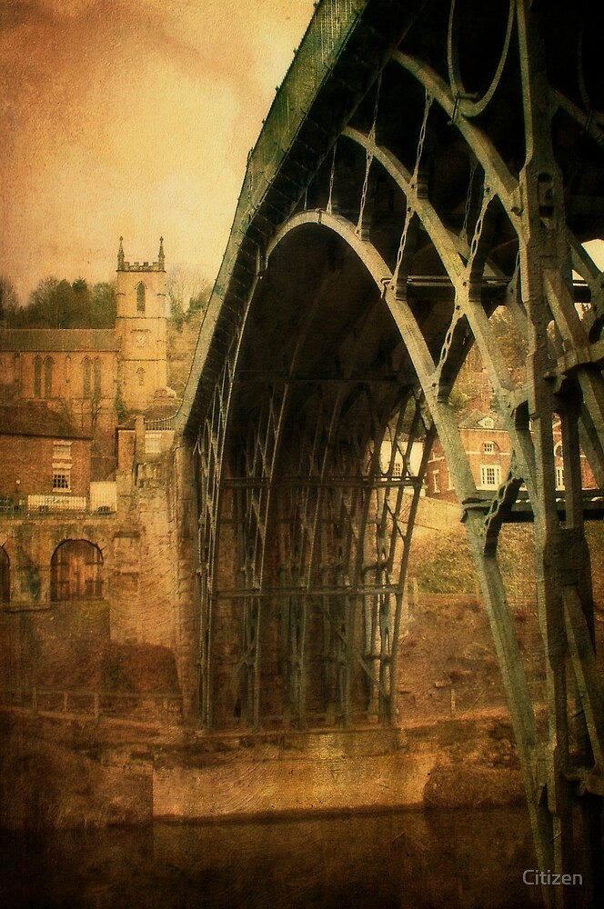 Iron Bridge Telford by Nikki Smith (Brown)