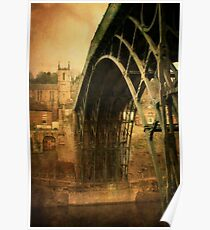 Iron Bridge Telford Poster